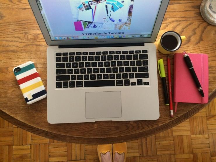 Coffee time desk