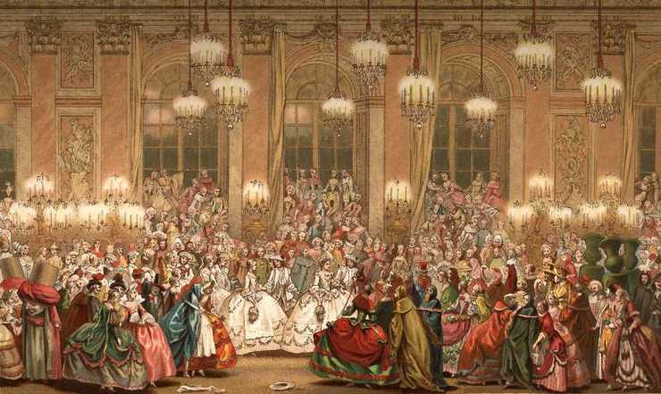 masquerade at the opera