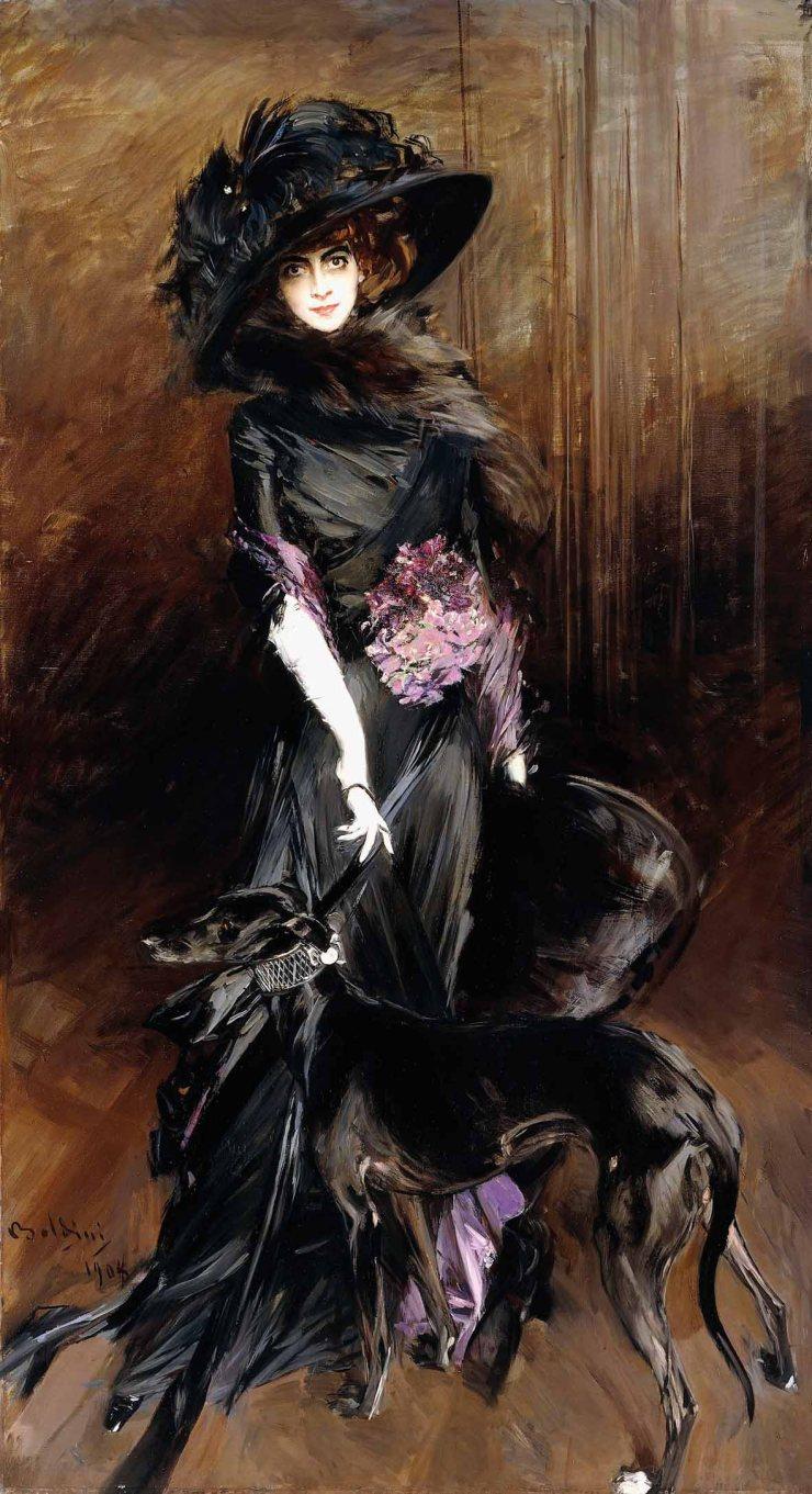 Luisa Casati by Giovanni Boldini